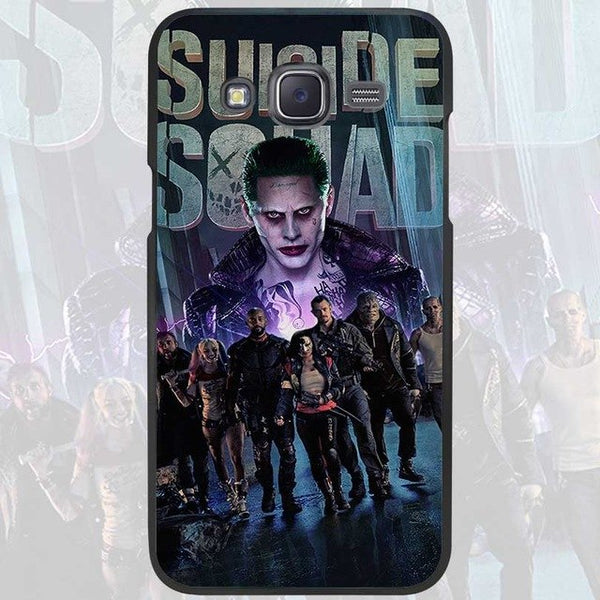 Harley Quinn Suicide Squad Black Case Cover Shell  for Samsung Galaxy J1 J3 J2 J5 J7 Prime 2016 2017