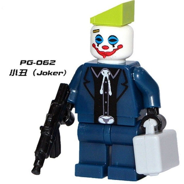 Single Sale Suicide Squad Joker Harley Quinn Two Face Scarecrow Starfire Batman Super Heroes Building Blocks Kids Toys PG8013