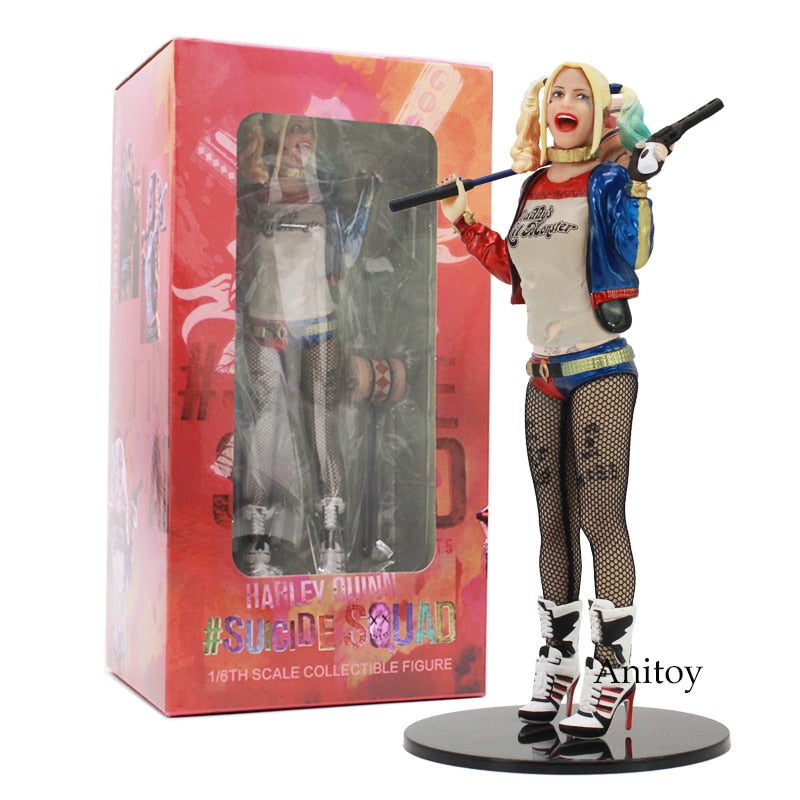 Suicide Squad Harley Quinn 1/6th Scale Collectible Figure Toy 18cm