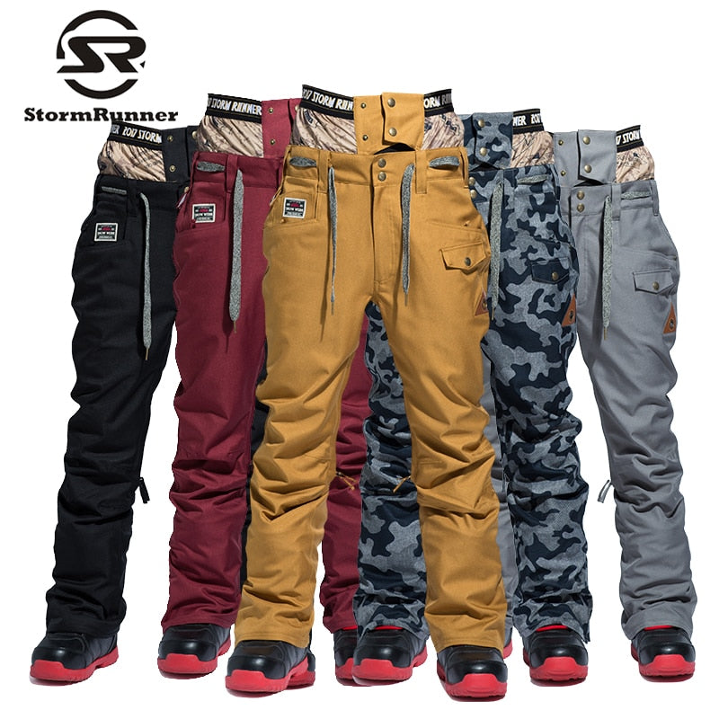 StormRunner 2018 winter snow pants new style Men's snow pants  sport outdoor pants for boys