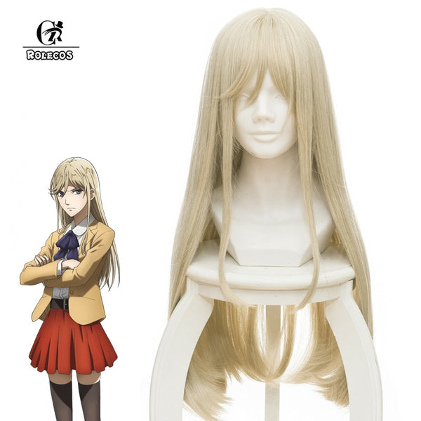 ROLECOS Anime Hakata Tonkotsu Ramens Cosplay Lin Xianming Cosplay Long Straight Hair 70cm/27.56 inches Cosplay Synthetic Hair