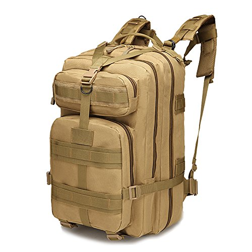 30L Outdoor Hiking Camping Bag Army Military Tactical Climbing Trekking Storage Rucksack Backpack Camo Molle Pack