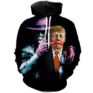 PLstar Cosmos NEW Funny Sweatshirt Men/Women 3d Hoodies Tracksuit Trump/The Joker Hoodie Suicide Squad Comic Clown Pullover