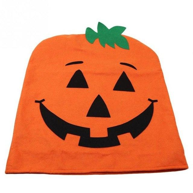 Swell Pumpkin Stretch Chair Cover Big Elastic Seat Chair Covers Painting Slipcovers Restaurant Banquet Halloween Decoration Caraccident5 Cool Chair Designs And Ideas Caraccident5Info