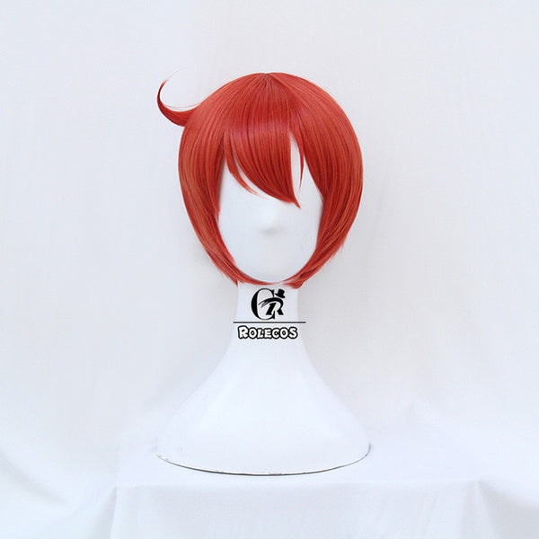 ROLECOS Cells at Work Cosplay Hair Anime Erythrocytes Headwear Hataraku Saibou Cosplay Hair Women Cosplay Synthetic Hair