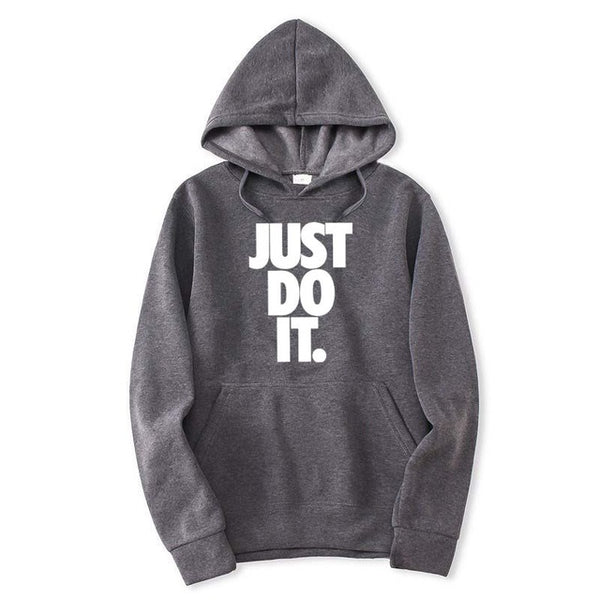 2018 fashion New Just do it z pocket  Hooded Sweatshirts Kid  Hoodies Pullovers Men Women Long Sleeve Outerwear New Hoodie