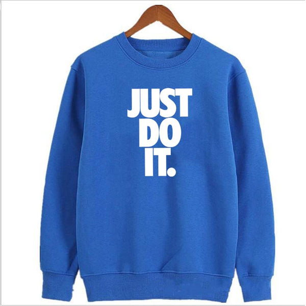 Just Do It  Fashion Hoodies Men/Women Casual Hip Hop Tentacion Sweatshirt Vibes Forever Traksuit Fleece Pullover Hoody Male tops