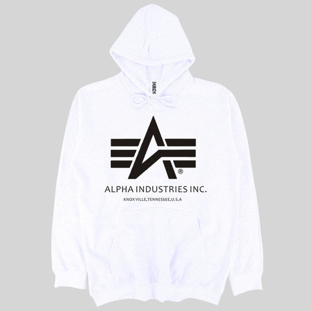 mens hoodies fashion Alpha Industries hoody Cotton long sleeves pullover shirt autumn spring style hoody male sweatshirt