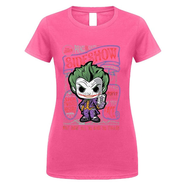GILDAN Suicide Squad Joker womens T Shirt Short Sleeve Clothes women Casual Summer  T-Shirt Top Tees