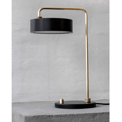 Linidholdt Studio - Petite Machine Bordlampe Sort fra No17 Limited