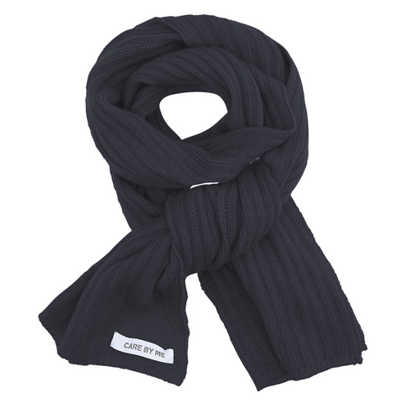 Care by Me - Cashmere Scarf Dark Grey