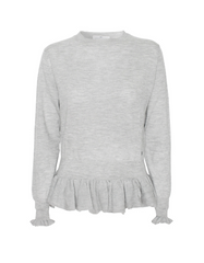Wuth Cashmere Belt Pullover hos No17 Limited