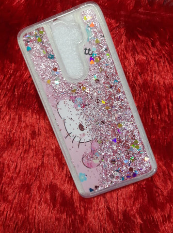 Hello Kitty Liquid Glitter Cases @ Rs 249/-
