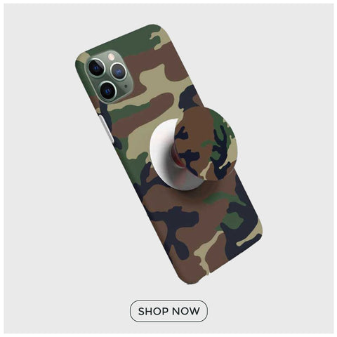 Phone Case with White Popsocket @ Rs 249/-