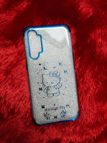 Hello Kitty Glitter Cases @ Rs 149/-