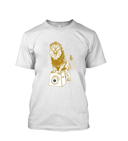 Crazywears Mens T-Shirt- The Lion