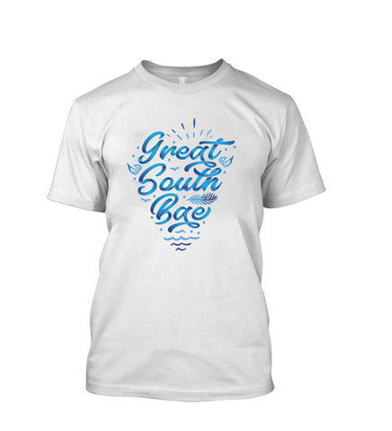 Crazywears Mens T-Shirt- Great South Bay