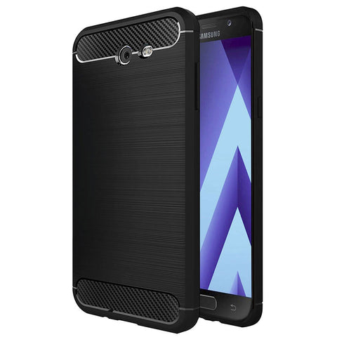 Samsung Galaxy A5 2017 (A520 Model Only) Mobile Phone Back Cover Carbon Fibre Case