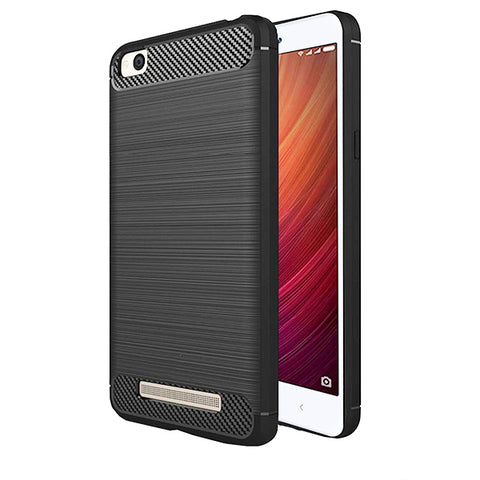 Xiaomi Redmi 4A Mobile Phone Back Cover Carbon Fibre Case