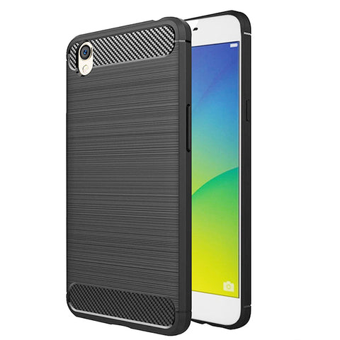 Oppo A37 / Neo 9 Mobile Phone Back Cover Carbon Fibre Case