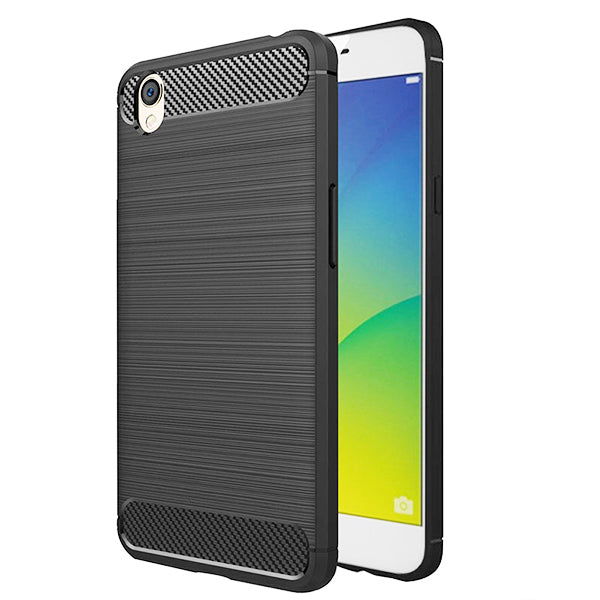 Oppo A37 / Neo 9 Mobile Phone Back Cover Carbon Fibre Case - www.crazywears.in