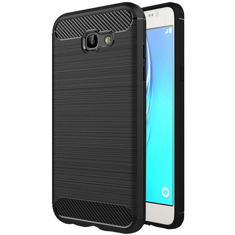 Samsung Galaxy A7 2017 (A720 Model Only) Mobile Phone Back Cover Carbon Fibre Case