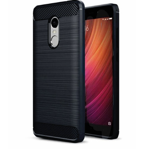 Xiaomi Redmi Note 4 Mobile Phone Back Cover Carbon Fibre Case