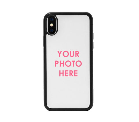 Apple iPhone X Back Cover Personalised Printed Glass Case