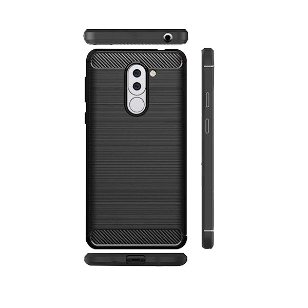 Huawei Honor 6X Mobile Phone Back Cover Carbon Fibre Case