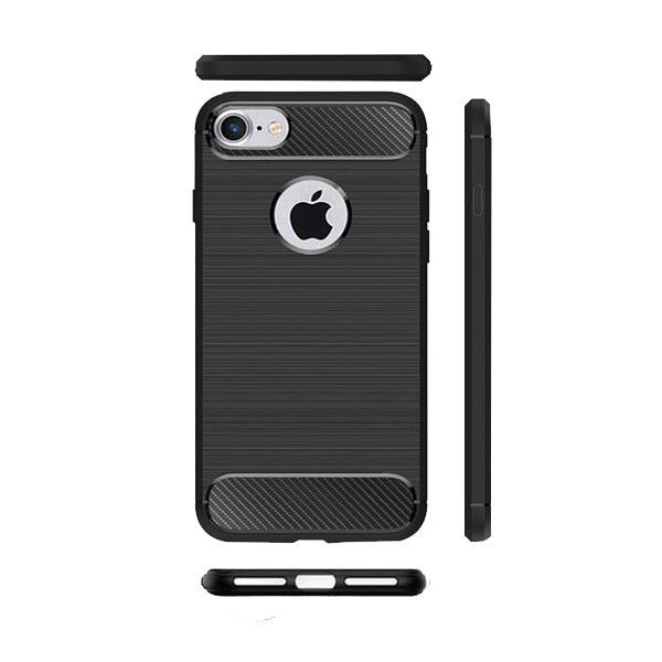 Apple iPhone 7 Mobile Phone Back Cover Carbon Fibre Case