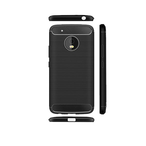 Motorola Moto G5 Mobile Phone Back Cover Carbon Fibre Case