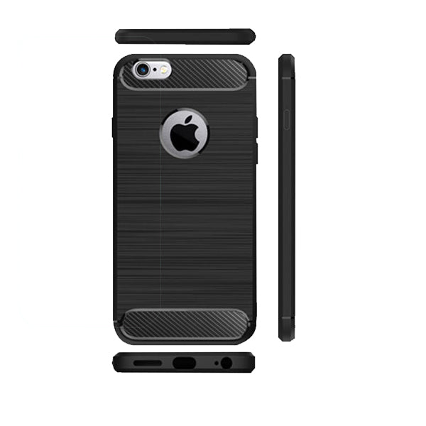 Apple iPhone 6 Plus / 6s Plus Mobile Phone Back Cover Carbon Fibre Case