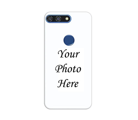 Huawei Honor 7A Back Cover Personalised Printed Case - www.crazywears.in