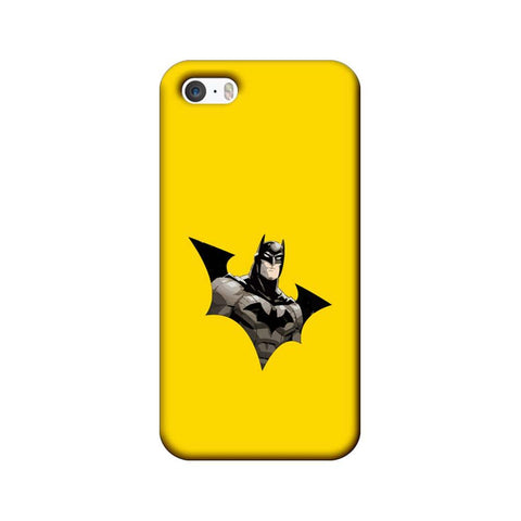 Apple iPhone 5 / 5s / SE Mobile Cover Printed Designer Case Batmanillustration