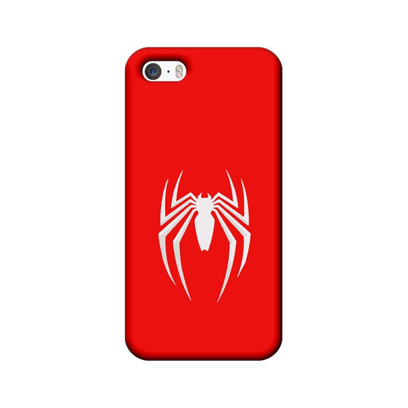 Apple iPhone 5 / 5s / SE Mobile Cover Printed Designer Case Spiderman Logo