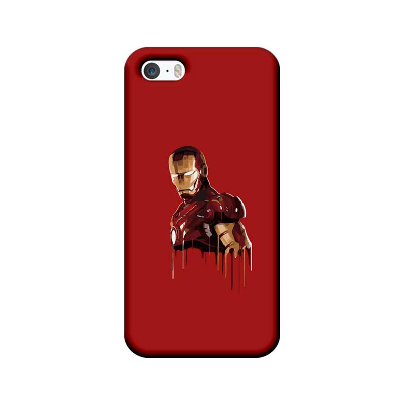 Apple iPhone 5 / 5s / SE Mobile Cover Printed Designer Case Ironman