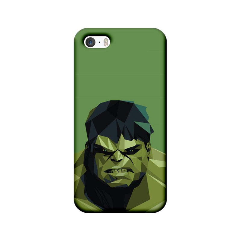 Apple iPhone 5 / 5s / SE Mobile Cover Printed Designer Case Angry Hulk