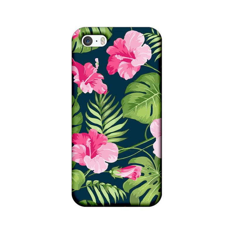 Apple iPhone 5 / 5s / SE Mobile Cover Printed Designer Case Pink Floral