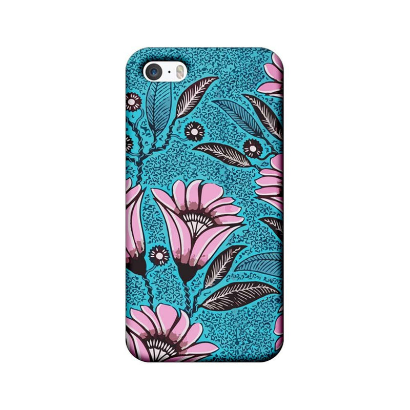 Apple iPhone 5 / 5s / SE Mobile Cover Printed Designer Case Pinkish Floral