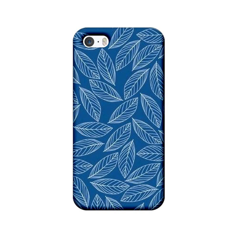Apple iPhone 5 / 5s / SE Mobile Cover Printed Designer Case Leaves