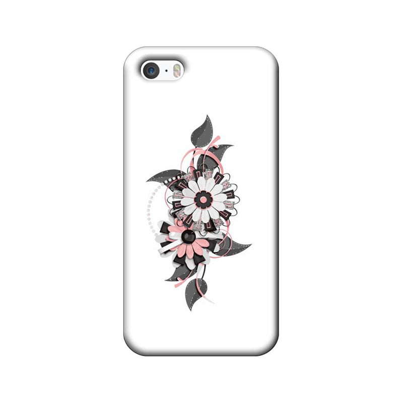 Apple iPhone 5 / 5s / SE Mobile Cover Printed Designer Case Floral Pattern