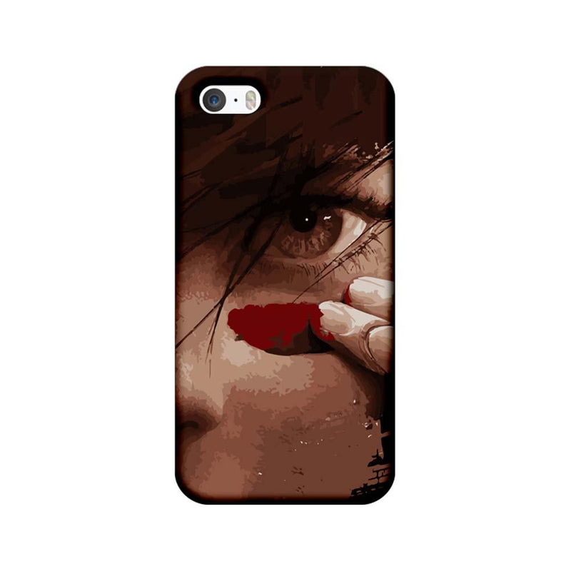 Apple iPhone 5 / 5s / SE Mobile Cover Printed Designer Case Eye