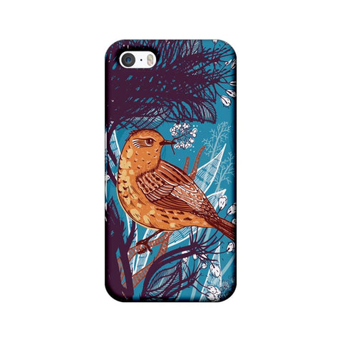 Apple iPhone 5 / 5s / SE Mobile Cover Printed Designer Case Bird