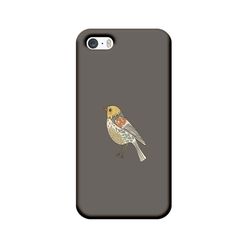 Apple iPhone 5 / 5s / SE Mobile Cover Printed Designer Case Bird Art