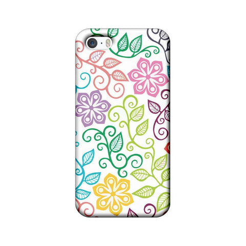 Apple iPhone 5 / 5s / SE Mobile Cover Printed Designer Case Art Pattern