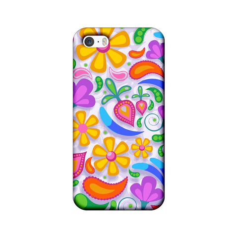 Apple iPhone 5 / 5s / SE Mobile Cover Printed Designer Case Art Pattern 2.0