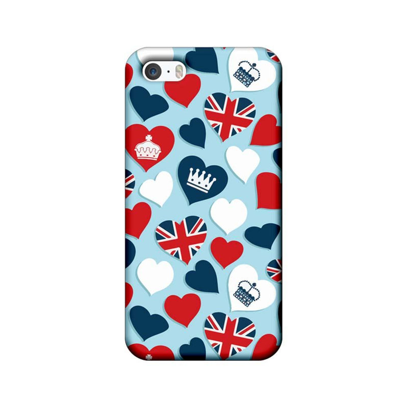 Apple iPhone 5 / 5s / SE Mobile Cover Printed Designer Case I Love London