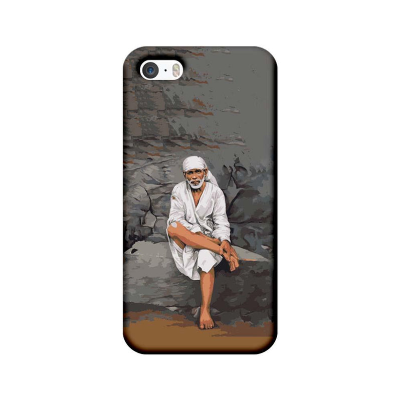 Apple iPhone 5 / 5s / SE Mobile Cover Printed Designer Case Lord Sai Baba