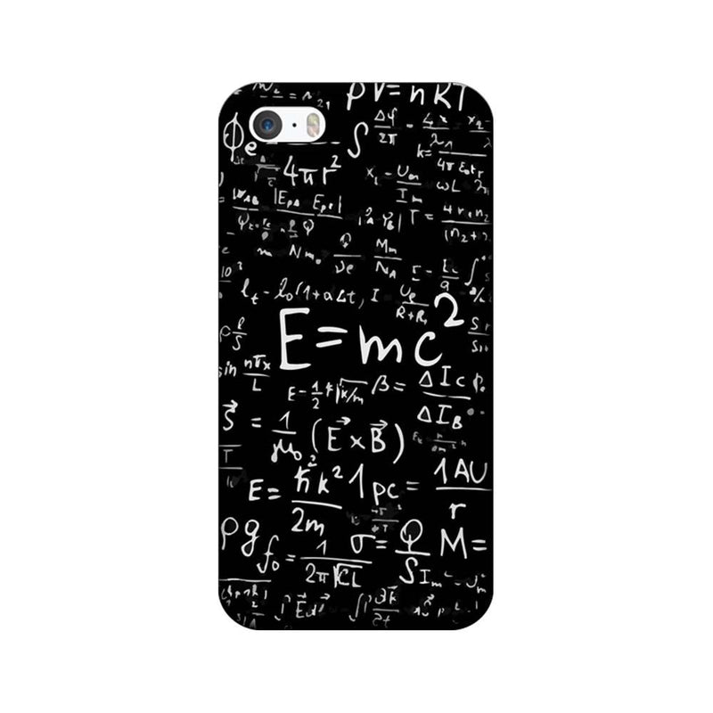 Apple iPhone 5 / 5s / SE Mobile Cover Printed Designer Case Mathematician