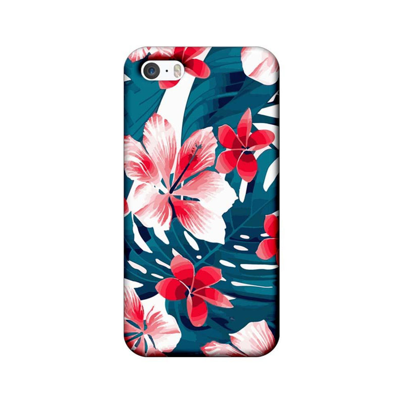 Apple iPhone 5 / 5s / SE Mobile Cover Printed Designer Case Florals